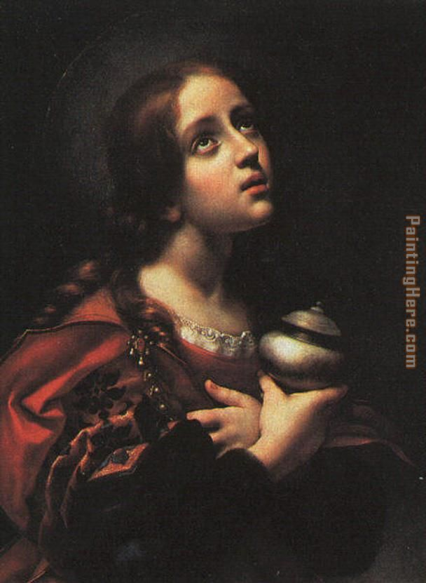 Unknown Artist Saint Mary Magdalene By Carlo Dolci Art Painting