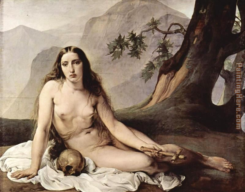 The penitent Mary Magdalene by Francesco Hayez