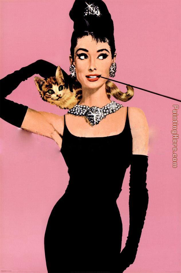 Audrey Hepburn pop art Painting anysize 50% off