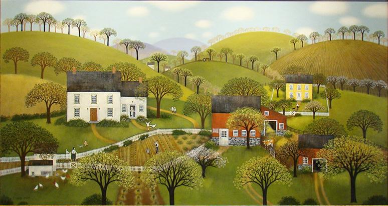Αποτέλεσμα εικόνας για spring in painting