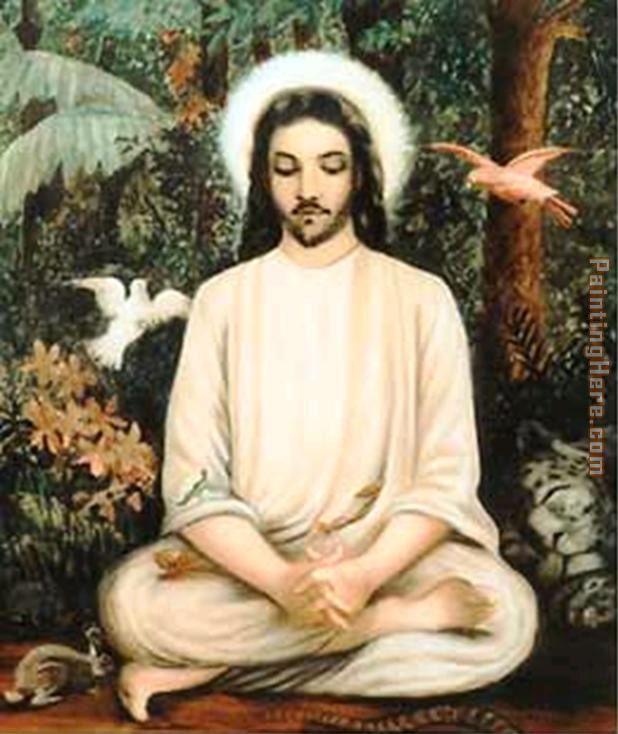 unknown artist jesus christ painting anysize 50 off jesus christ