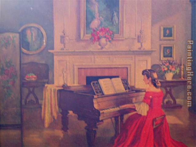 M Ditlef sonata painting - Unknown Artist M Ditlef sonata art painting