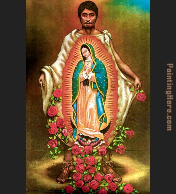 Our Lady of Guadalupe painting - Unknown Artist Our Lady of Guadalupe art painting
