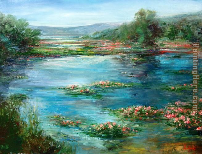 Stephen Shortridge Lilacs painting - Unknown Artist Stephen Shortridge Lilacs art painting