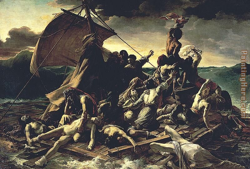 Unknown Artist The Raft of the Medusa by Theodore Gericault ...
