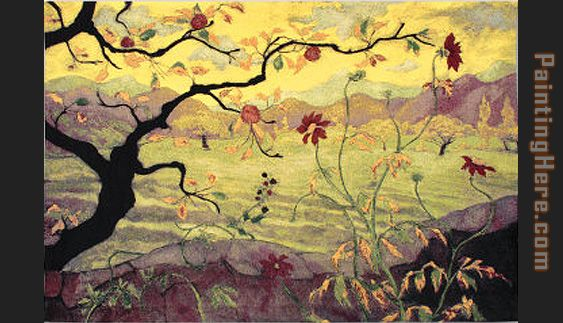 paul ranson Apple Tree with Red Fruit painting - Unknown Artist paul ranson Apple Tree with Red Fruit art painting