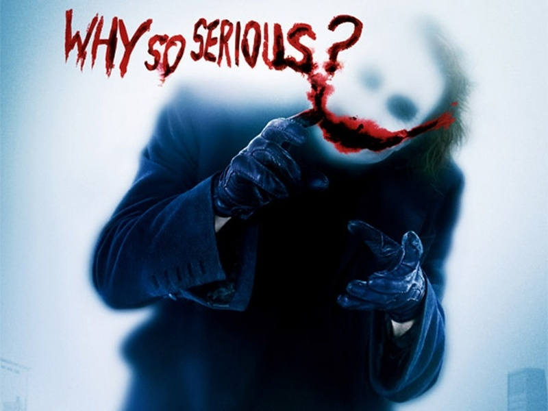 why so serious the joker painting - Unknown Artist why so serious the joker art painting