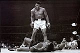 Muhammad Ali vs. Sonny Liston by Unknown Artist
