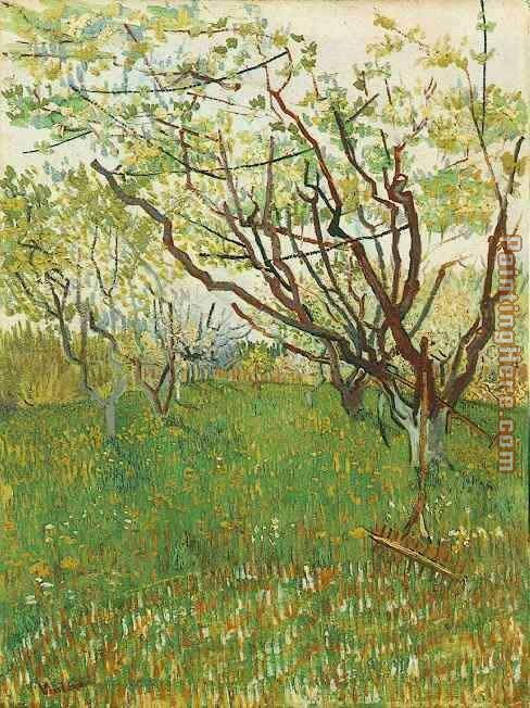 Orchard in Blossom 1 painting - Vincent van Gogh Orchard in Blossom 1 art painting