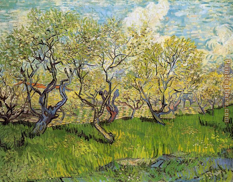 Orchard in Blossom 4 painting - Vincent van Gogh Orchard in Blossom 4 art painting