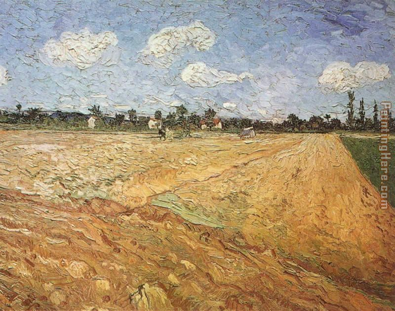 The Plowed Field painting - Vincent van Gogh The Plowed Field art painting