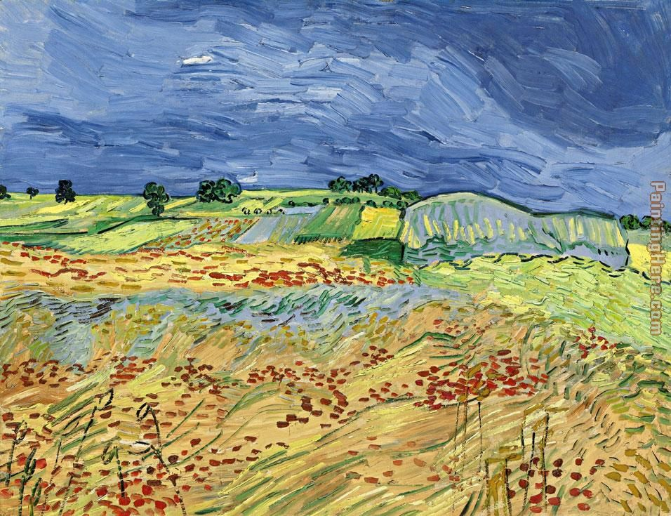 Wheat Fields painting - Vincent van Gogh Wheat Fields art painting