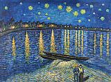 Starry Night Over the Rhone 2 by Vincent van Gogh