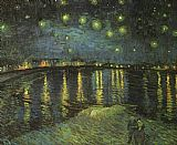 Starry Night over the Rhone I by Vincent van Gogh