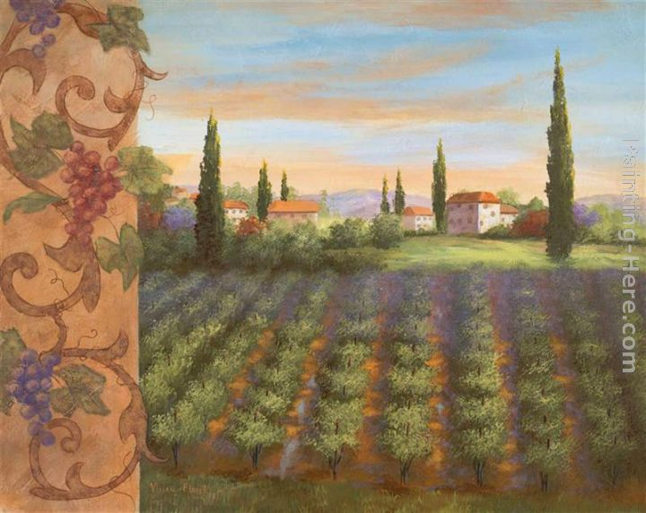 Vivian Flasch Fruit of the Vine I Painting anysize 50% off
