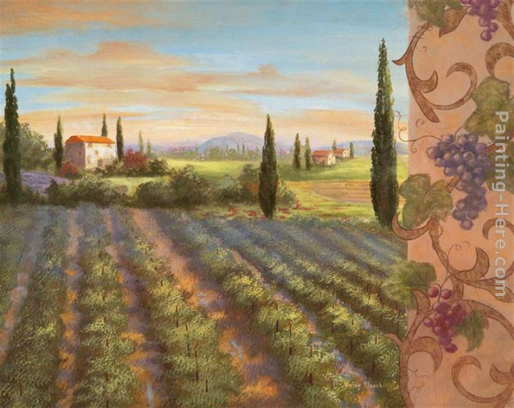 Vivian Flasch Fruit of the Vine II Painting anysize 50% off