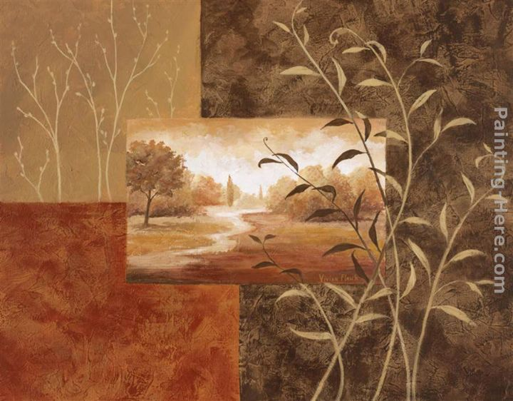 Vivian Flasch Warm Surroundings II Painting anysize 50% off