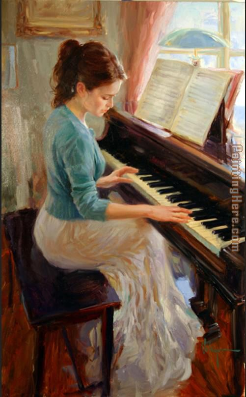 Vladimir Volegov Familiar Melody Art Painting