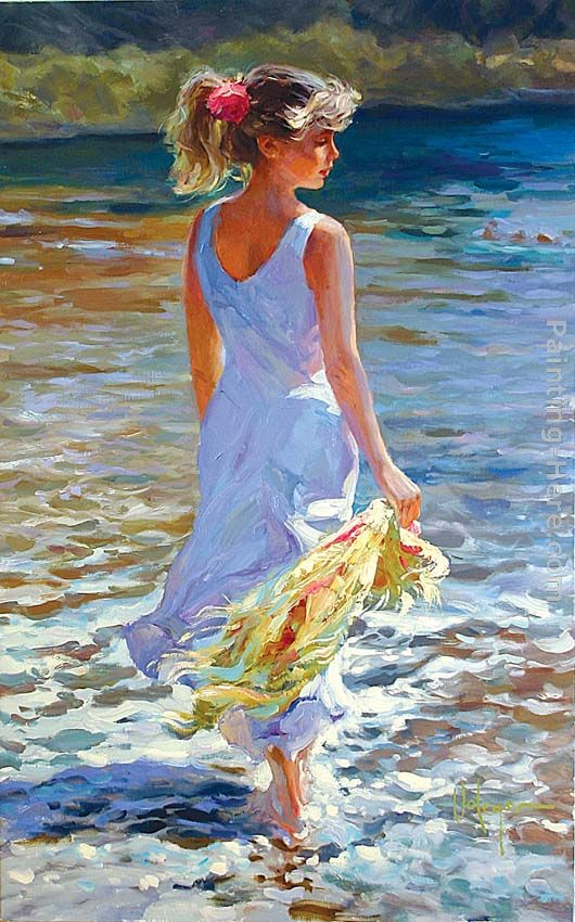Low Tide painting - Vladimir Volegov Low Tide art painting
