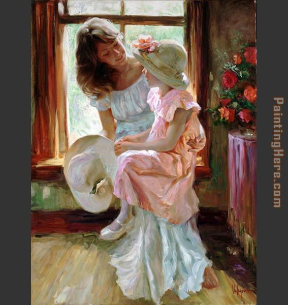 Morning Chat painting - Vladimir Volegov Morning Chat art painting