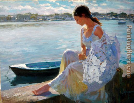 River of Dreams painting - Vladimir Volegov River of Dreams art painting
