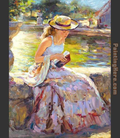 Vladimir Volegov Sunday in the Park Art Painting