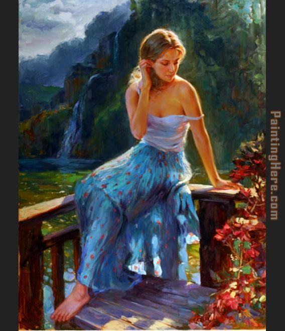 Vladimir Volegov Tropical Afternoon Art Painting