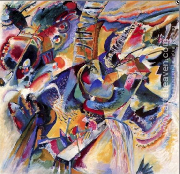 Wassily Kandinsky Improvisation Gorg painting anysize 50% ...