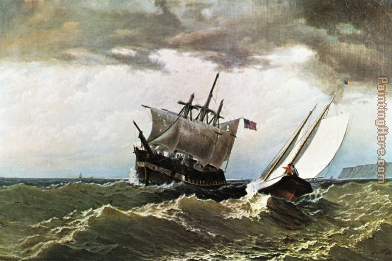 After the Storm painting - William Bradford After the Storm art painting