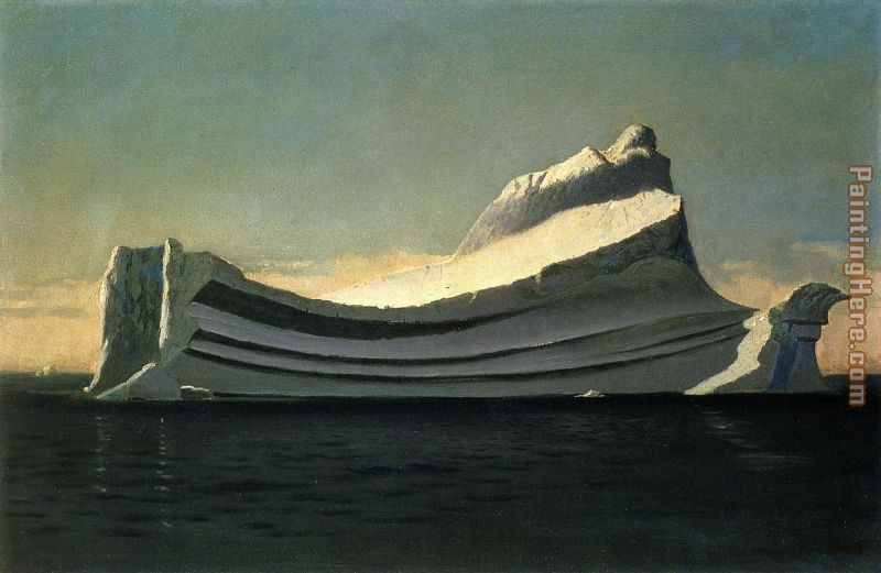 Iceberg painting - William Bradford Iceberg art painting