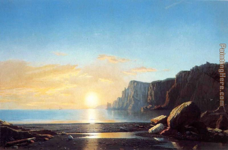 Off the Coast of Labrador painting - William Bradford Off the Coast of Labrador art painting