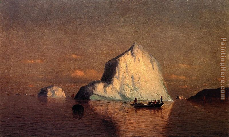 Straits of Belle Isle painting - William Bradford Straits of Belle Isle art painting