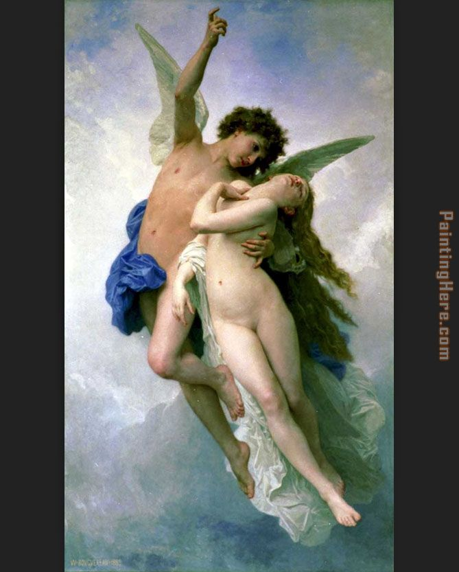 william bouguereau psyche and cupid painting anysize 50 off
