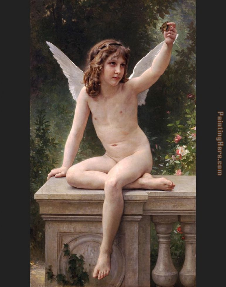 William Bouguereau The Prisoner Art Painting