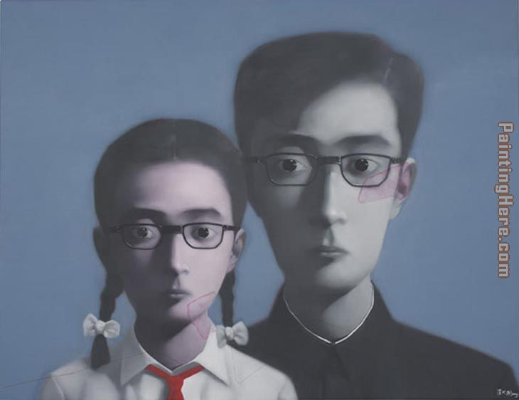 Bloodline painting - Zhang Xiaogang Bloodline art painting