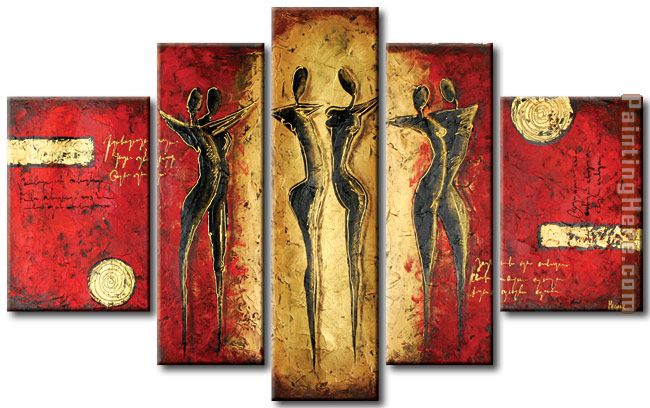 91593 painting - Abstract 91593 art painting