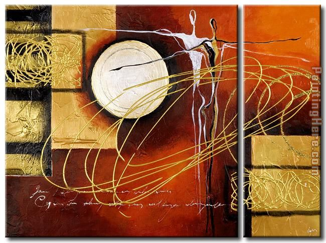 92448 painting - Abstract 92448 art painting