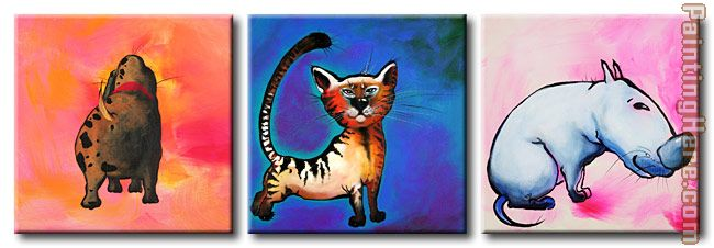 7240 painting - Animal 7240 art painting
