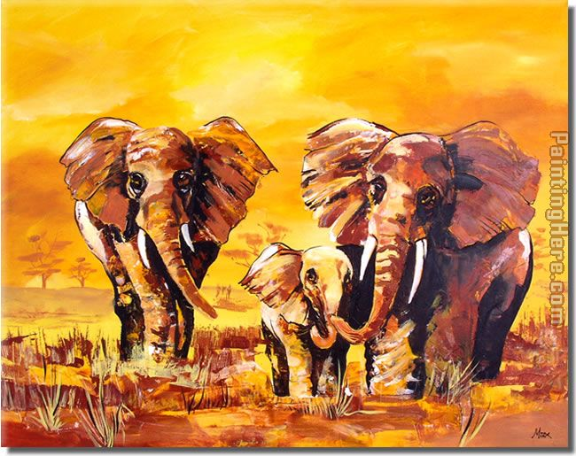 Animal 8136 Art Painting