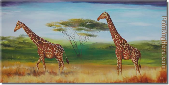 Animal 8218 Art Painting