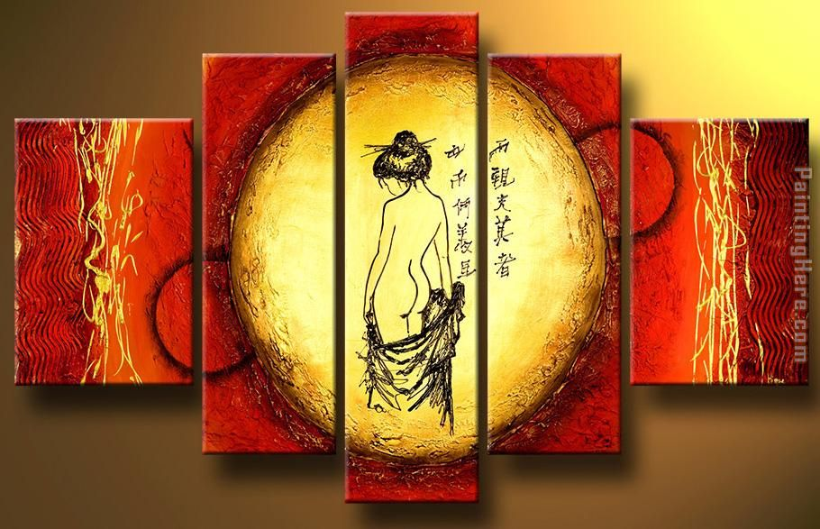 6147 painting - feng-shui 6147 art painting