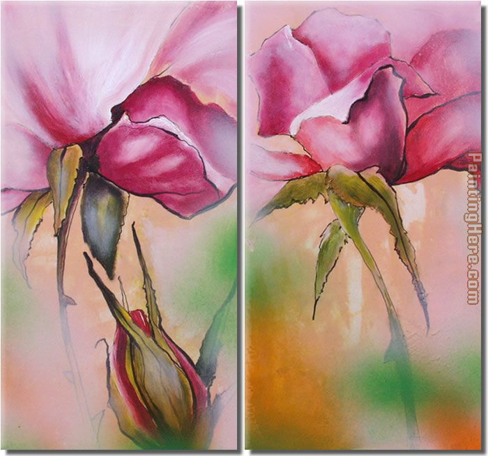21227 painting - flower 21227 art painting