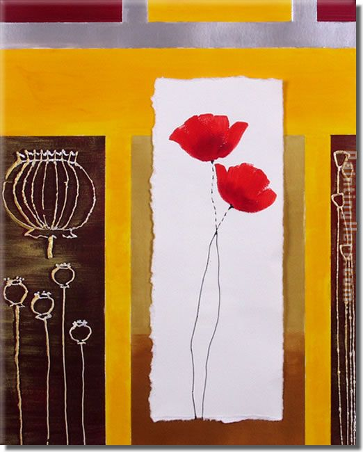 21451 painting - flower 21451 art painting