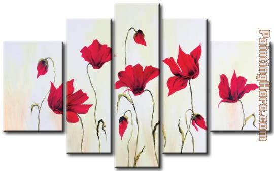 22053 painting - flower 22053 art painting