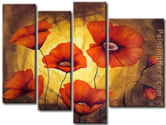 flower 22276 Stretched Canvas Painting