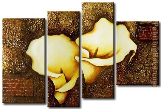 flower 22310 Stretched Canvas Painting