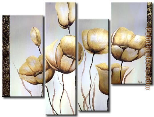 flower 22315 Stretched Canvas Painting