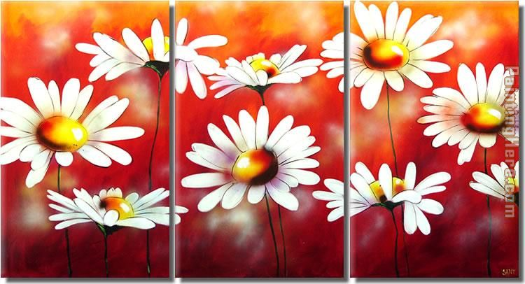 flower 2756 Stretched Canvas Painting