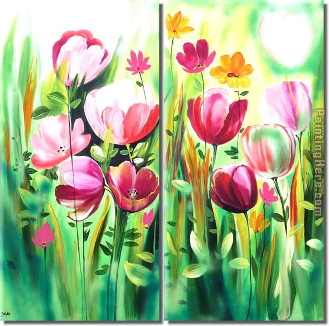 2952 painting - flower 2952 art painting