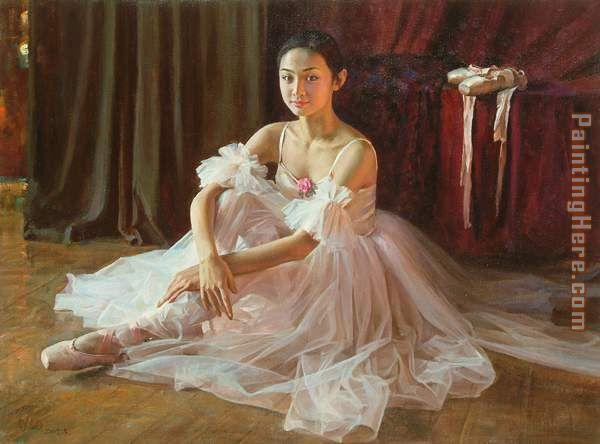 Guan zeju Beautiful life Art Painting